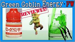 Green Goblin Energy FW – Review & Recipe [Diy eliquid Monster Green Energy Drink Flavor]
