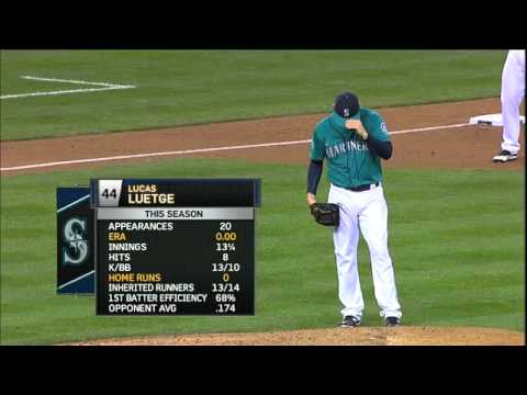 2012/06/08 Seattle's combined no-hitter
