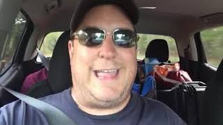 Hurricane Florence discussion from the road