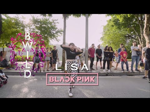 [DANCING IN PUBLIC] BLACKPINK LISA - I LIKE IT (CARDI B), ATTENTION (CHARLIE PUTH) BY KEIISOO B-WILD
