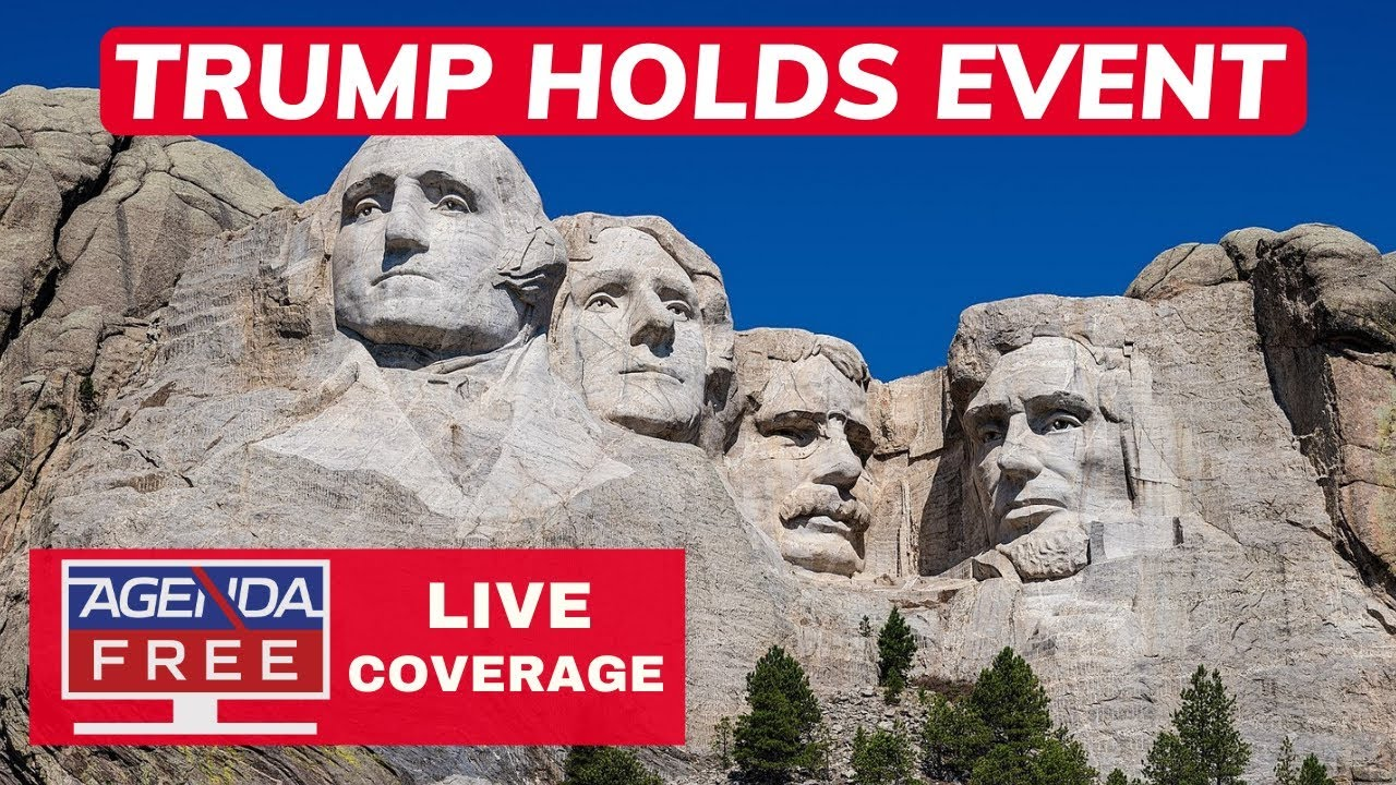 Trump Holds Event at Mount Rushmore - LIVE NEWS COVERAGE