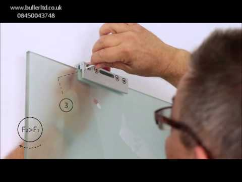 Hercules Glass Top hung sliding door gear for 100kg glass door. DIY installation video