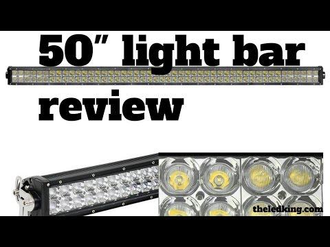 Ebay 50 inch led light bar review youtube ebay 50 inch led light bar review aloadofball Choice Image