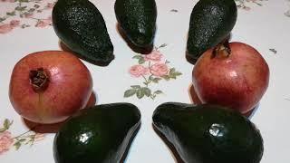 Авокадо и гранат содержат опасные токсины! И они нам пригодятся!