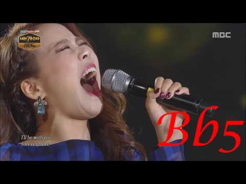 BEST EXTREME VOCALS - KOREAN FEMALE SINGERS