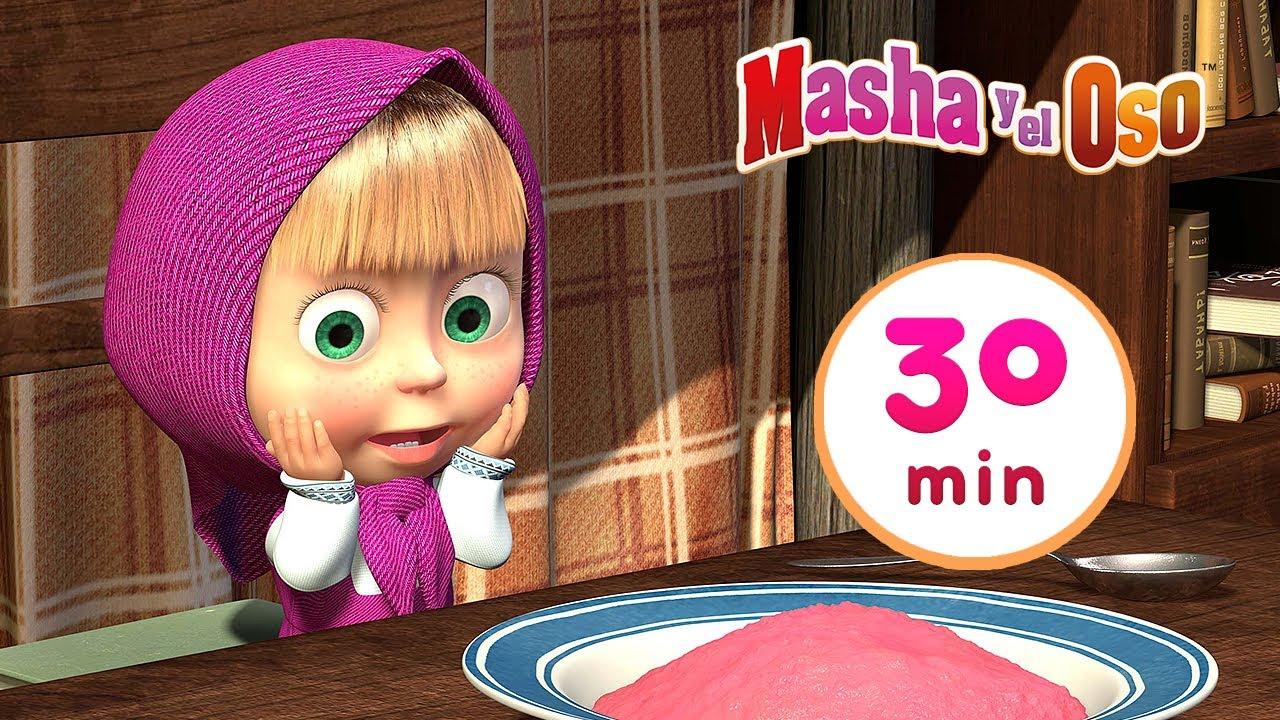 Masha y el Oso -  La avena de Masha 🥣 Сolección 13 🎬 30 min