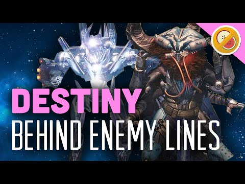 """Destiny """"Behind Enemy Lines"""" - The Dream Team Challenge (Funny Gaming Moments)"""