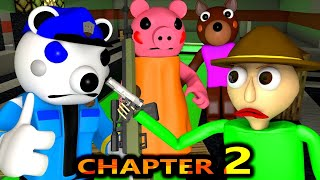 PIGGY CHAPTER 2 vs BALDI ROBLOX SPEEDRUNNER CHALLENGE ! POLEY DOGGY horror Peppa Minecraft Animation