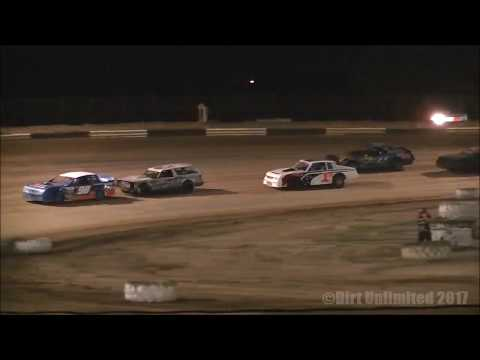 6.24.17 | Street Stocks Heats & Feature | Fayette County (IL) Speedway