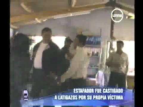 latigazo - Betrüger ausge peitscht