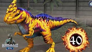 Раджастега 40 Jurassic World The Game прохождение на русском