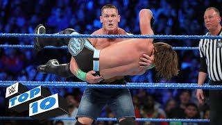Video Top 10 SmackDown LIVE moments: WWE Top 10, February 27, 2018 download MP3, 3GP, MP4, WEBM, AVI, FLV Juni 2018