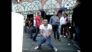 Fábio Dance a dançar para os Portugueses