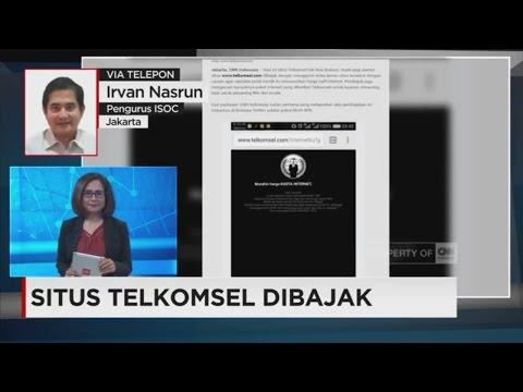 Situs Resmi Telkomsel Diretas
