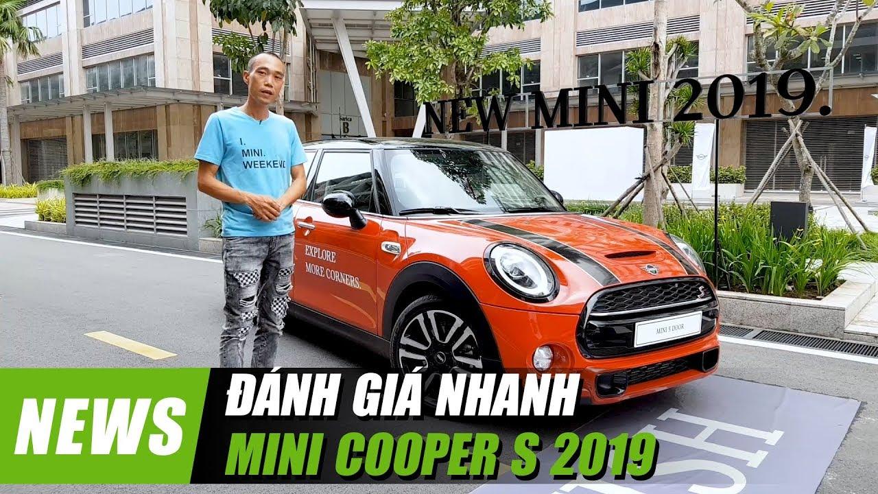 Đánh giá nhanh MINI COOPER S 2019, giá từ 1,969 tỷ đồng | Xedoisong.vn