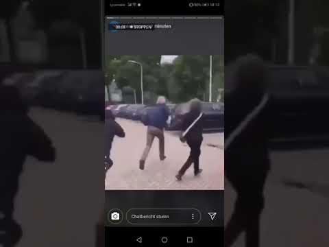 Pegida-voorman geslagen tijdens demonstratie