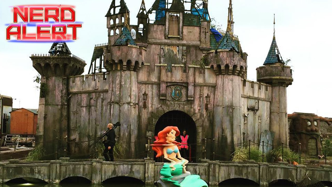 What is Banksy's Dismaland All About? - YouTube