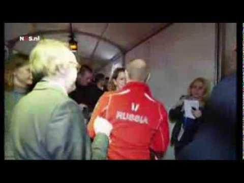 Russian television sees Putin in Holland Heineken House