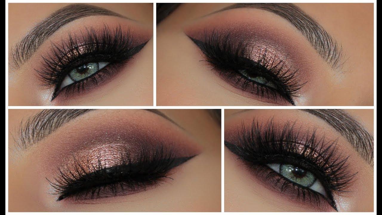Glamorous Pink Metallic Smokey Eye Amys Makeup Box Youtube