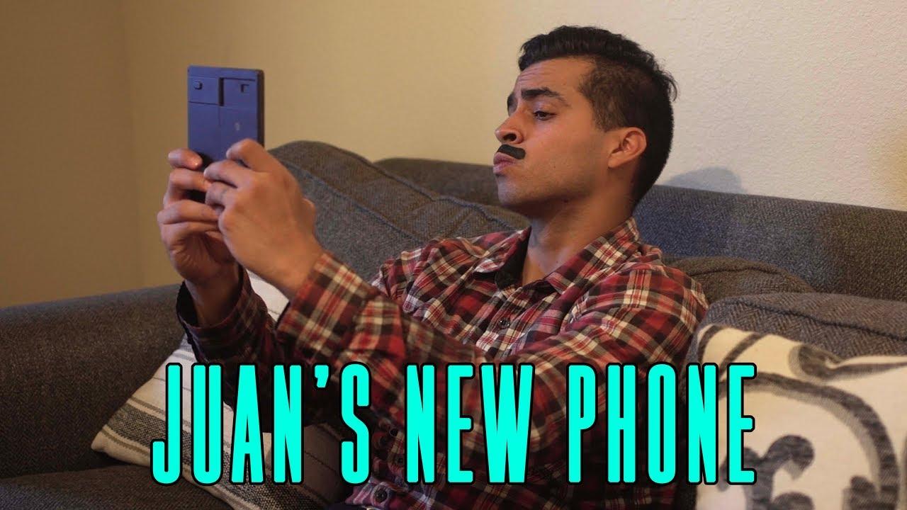 Juan's New Phone David Lopez YouTube