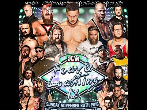 ICW Fear & Loathing The Game! (Teaser Trailer) from YouTube · Duration:  1 minutes 27 seconds