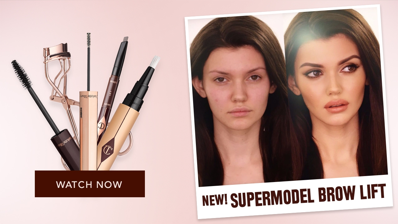 How To Create Supermodel Brows Charlotte Tilbury Youtube