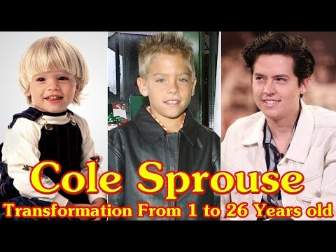 Cole Sprouse Transformation From 1 To 26 Years Old Youtube