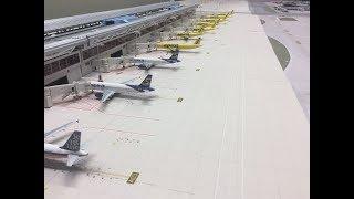 1:400 FLL Lauderdale international Model airport 04:30am-07:30 operations update