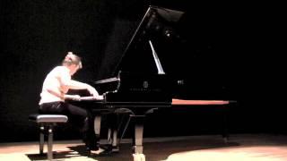 Ravel 'Alborada del gracioso' (Jean Beers, piano)