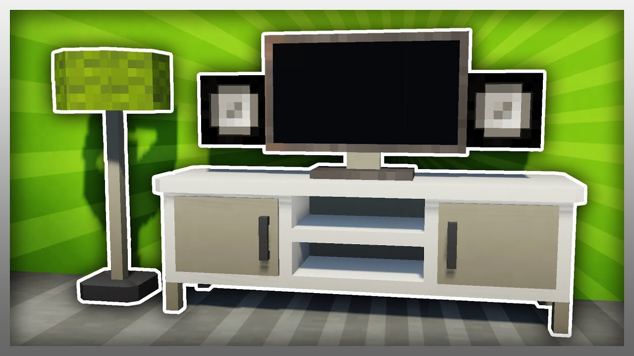 ✔️ Create an ENTERTAINMENT SYSTEM in Minecraft! (Furntiure Friday)