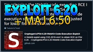 L'EXPLOIT PS4 6.20 EST SORTI + NOUVELLE MAJ PS4 6.50 ! FAILLES & NOUVEAUTES !