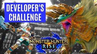 Monster Hunter Rise DEVELOPER CHALLENGE GAMEPLAY TRAILER REVEAL 3.2 EVENT モンスターハンターライズ チャレンジクエスト02