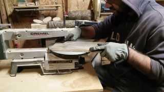 Scroll Saw Moustache Pallet Wood Cut Out