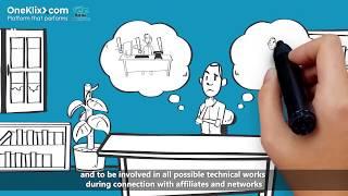 Whiteboard Animation Examples - Affiliate Marketing (OneKlix.com)