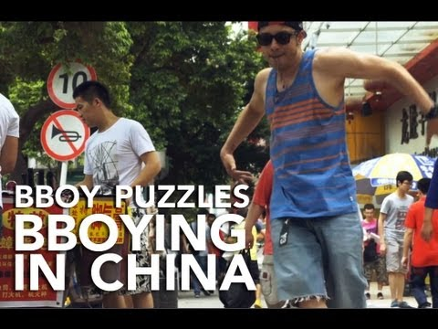 Bboy Puzzles on China Bboying