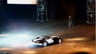 Top Gear Live в Москве.25.02.2012.Прикол с корзиной