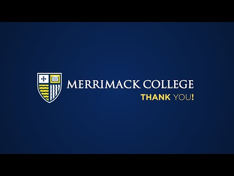 Thank You From Merrimack College