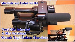 Mic external sony nx100