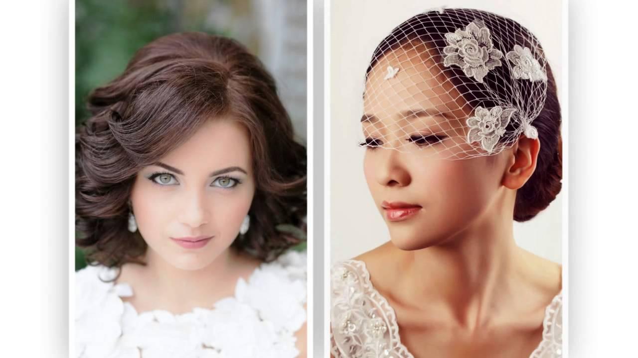 svatební účesy polodlouhé vlasy