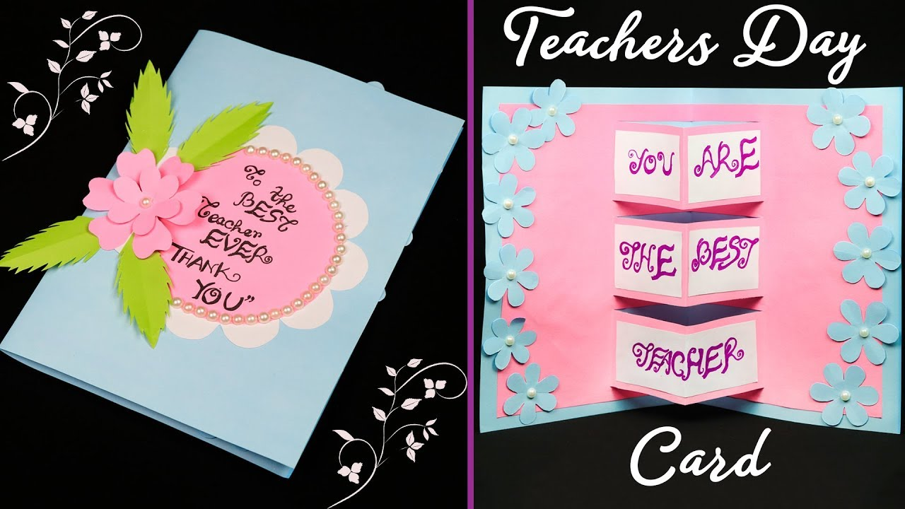 DIY Teachers Day Card