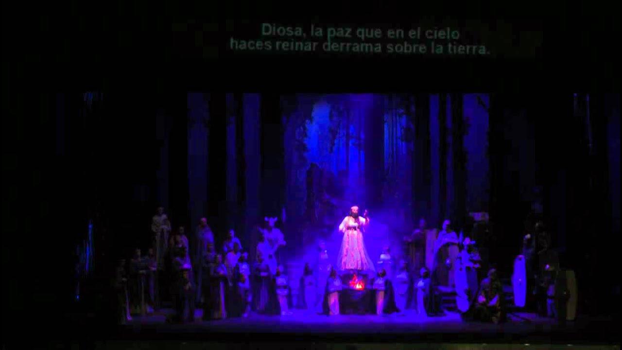 Norma casta diva mar a jos dulin teatro municipal - Norma casta diva testo ...