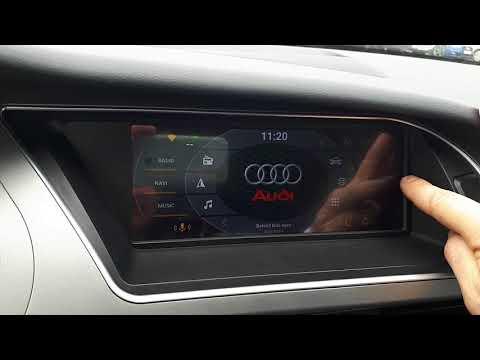 Головное устройство RSNAV для Audi A4 A5 Q5