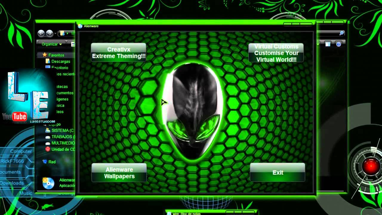 Free Download Wallpaper 3d For Blackberry Descargar Pack De Imagenes De Alienware Vs Wallpapers