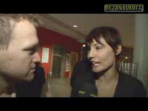 Carina Berg pratar om Björn Gustafsson
