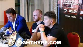 GEORGE GROVES FULL POST-FIGHT PRESS CONFERENCE AFTER KNOCKING OUT FEDOR CHUDINOV; TALKS TITLE WIN