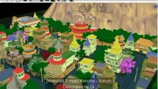 warcraft 3 map konoha naruto editable