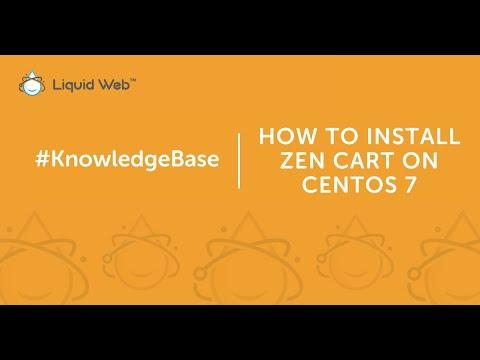 How to Install Zen Cart on CentOS 7