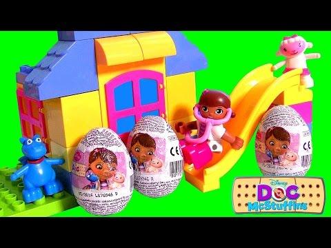 Ovos Surpresa Da Doutora Brinquedos Disney Doc Mcstuffins Huevos