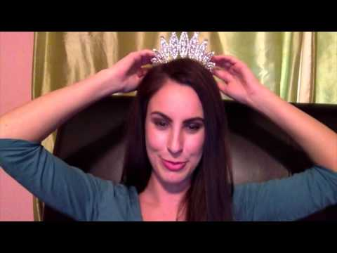 Securing a Pageant Crown Tutorial