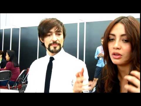 NYCC 2013: Da Vinci's Demons - Interview with Blake Ritson and Carolina Guerra - Snippet 2